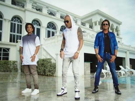 Wisin, Carlos Vives y Daddy Yankee en video Nota de amor
