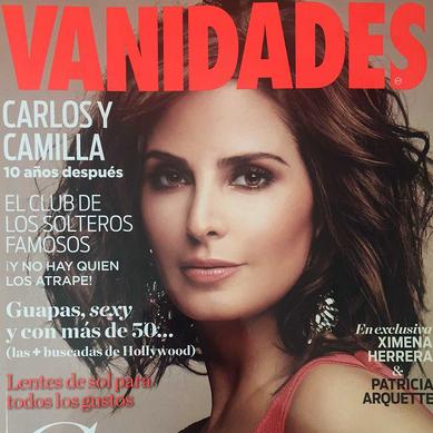 Ximena Herrera en revista Vanidades