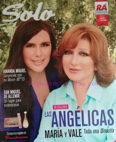 Angelica Vale y Angelica Maria en revista