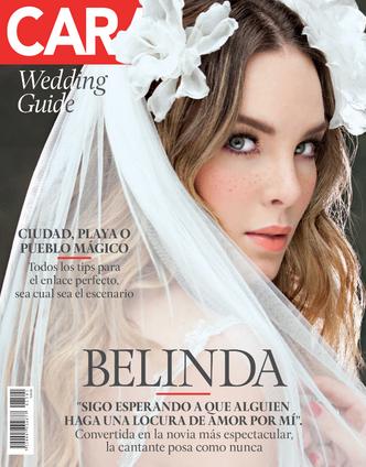 Belinda se viste de Novia para la Revista Caras