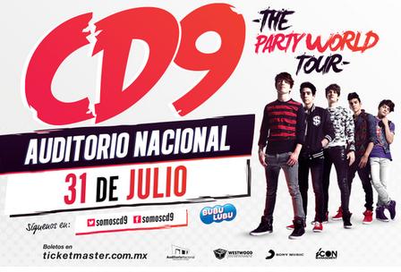 CD9 en Auditorio Nacional 31 de Julio