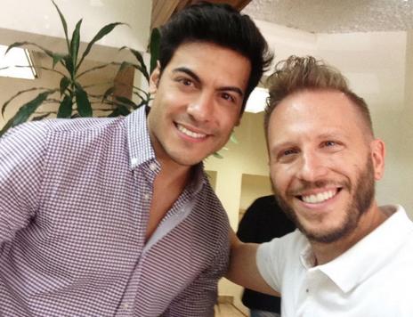 Carlos Rivera y Noel Schajris