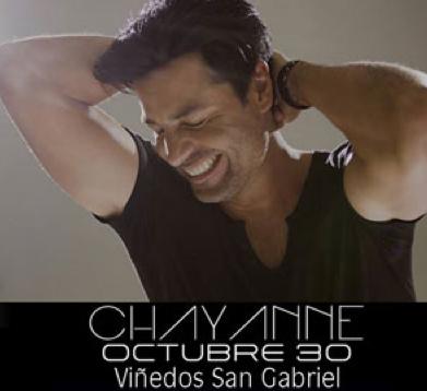 Chayanne en Ensenada 30 de octubre