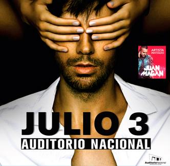 Enrique Iglesias 4 de Julio en Auditorio Nacional