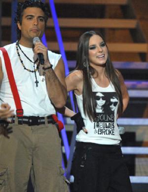 Jaime Camil y Belinda