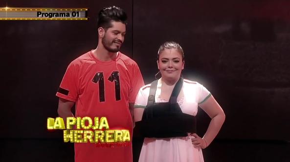La Pioja Herrera sale de Baila si puedes