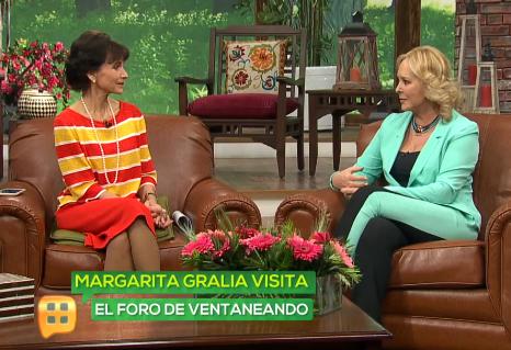 Margarita Gralia en Ventaneando