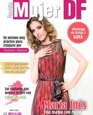María Inés en Revista Mujer DF