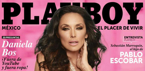 Mayra Rojas en Playboy