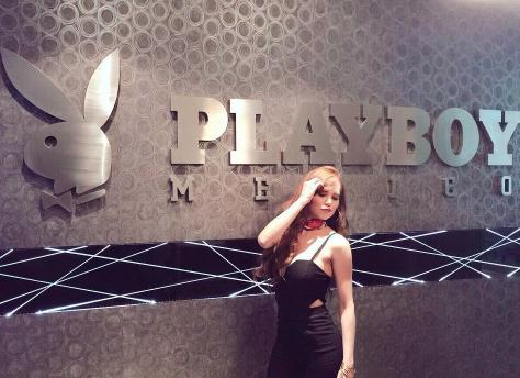 Vivian Cepeda en Palyboy