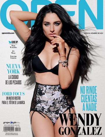 Wendy González en revista Open