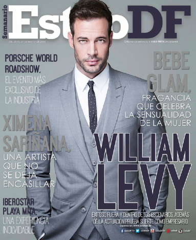William Levy en Estilo DF