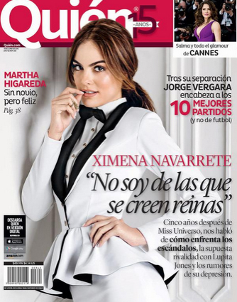 Ximena Navarrete en Quién