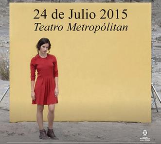 Ximena Sariñana en Teatro Metropolitan
