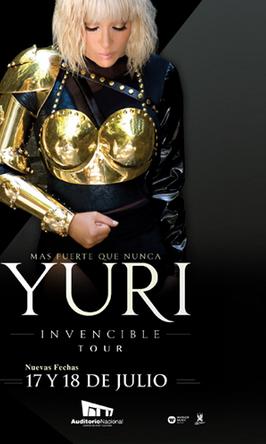 Yuri en Auditorio Nacional 17 y 18 de julio
