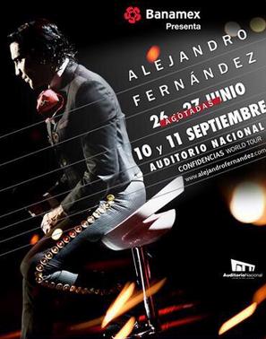 Alejandro Fernández en Auditorio Nacional 10 y 11 de septiembre