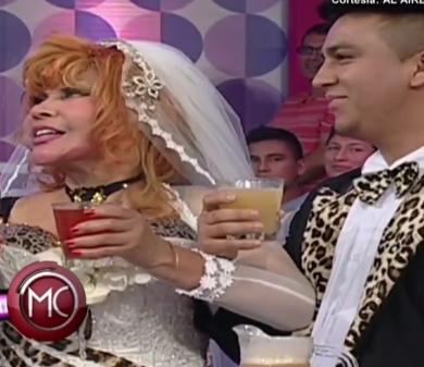 La Tigresa del Oriente se casa con hombre 50 años menor que ella