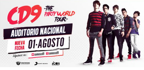 CD9 en Auditorio Nacional
