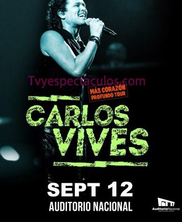 Carlos Vives en Auditorio Nacional