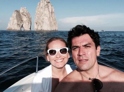 Elizabeth Álvarez y Jorge Salinas esperan bebé
