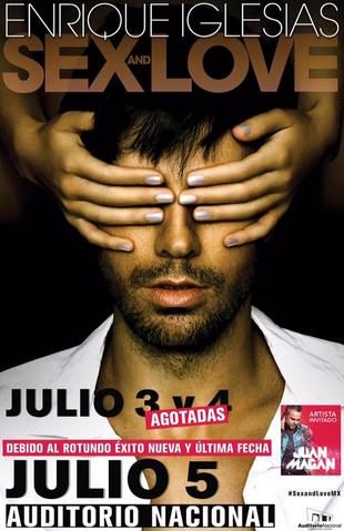 Enrique Iglesias en Auditorio Nacional 5 de Julio