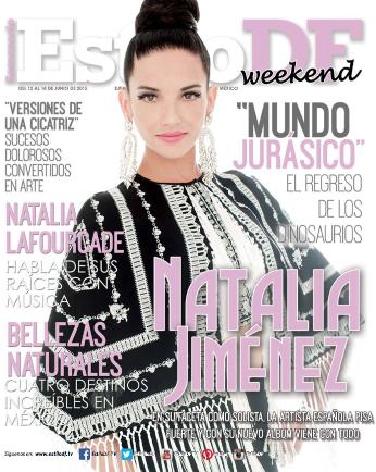 Natalia Jiménez en Revista Estilo DF