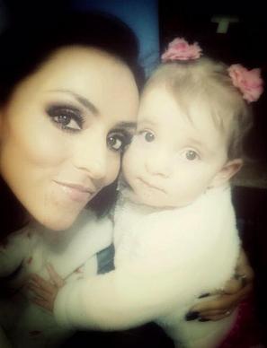 Ivonne Montero y su hija