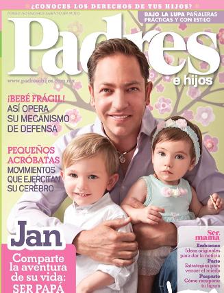 Jan en revista Padres e hijos
