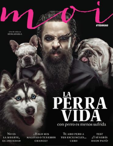 Jay de la Cueva en revista Moi