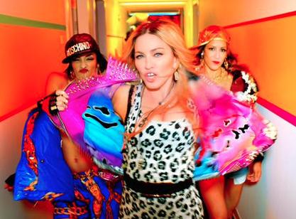 Madonna en Video Bitch I´m Madonna