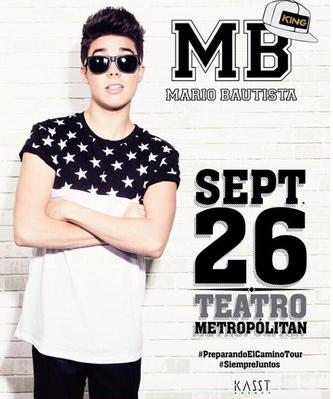 Mario Bautista en Teatro Metropolitan