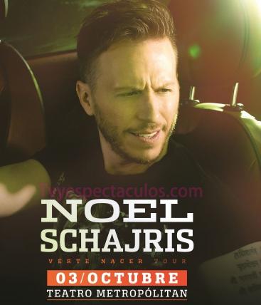 Noel Schajris en Teatro Metropolitan 3 de octubre