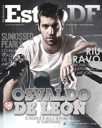 Osvaldo de León en Revista Estilo DF