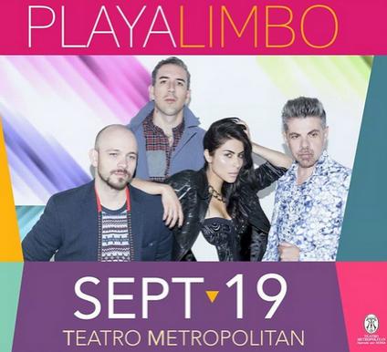 Playa Limbo en Teatro Metropolitan