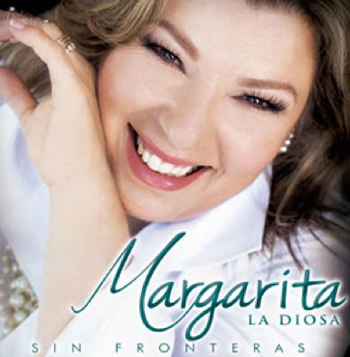 Sin Fronteras de Margarita La Diosa de la Cumbia ya a la venta