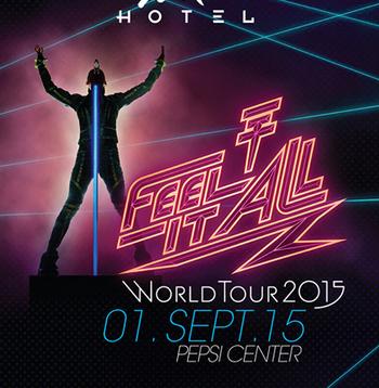 Tokio Hotel en Pepsi Center