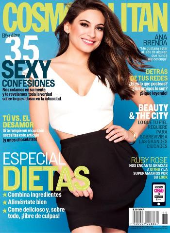 Ana Brenda Contreras en Cosmopolitan