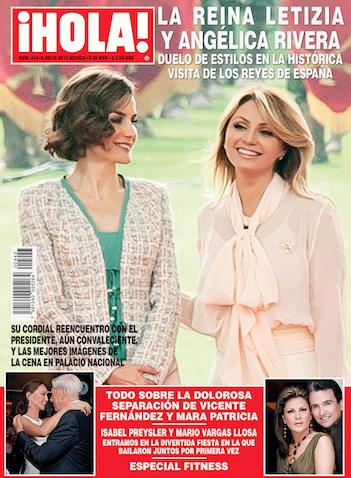 Angélica Rivera y Reina Letizia