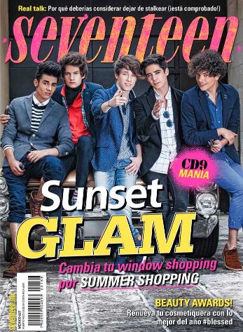 CD9 en Revista Seventeen