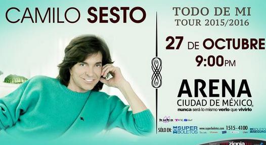 Camilo Sesto en Arena Ciudad de Mexico