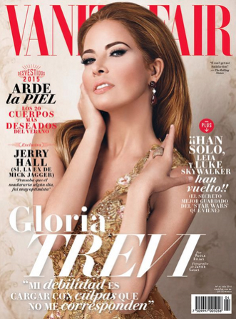 Gloria Trevi en Revista Vanity Fair