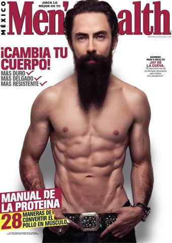 Jay de la Cueva en Mens Health