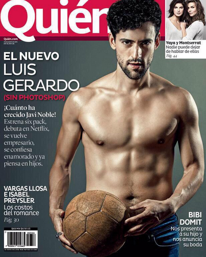 Luis Gerardo Méndez en revista Quién
