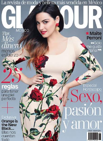 Maite Perroni en Glamour