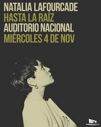 Natalia Lafourcade en Auditorio Nacional 4 de noviembre