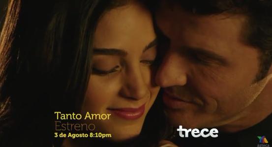 Primer promo de Tanto Amor de Tv Azteca