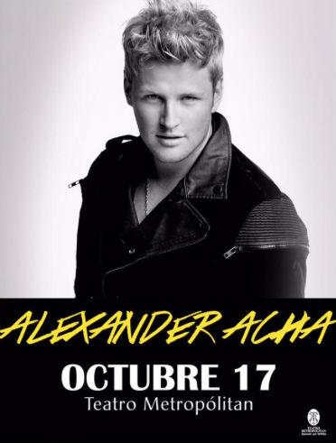 Alexander Acha en Teatro Metropolitan