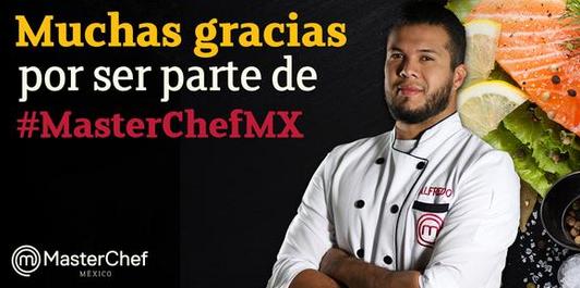 Alfredo de Master Chef México