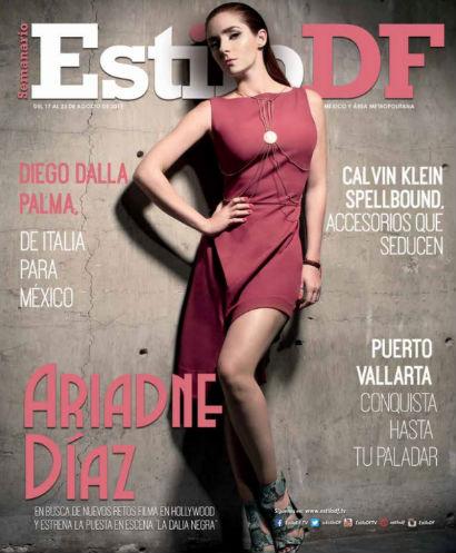Ariadne Díaz en Revista Estilo DF