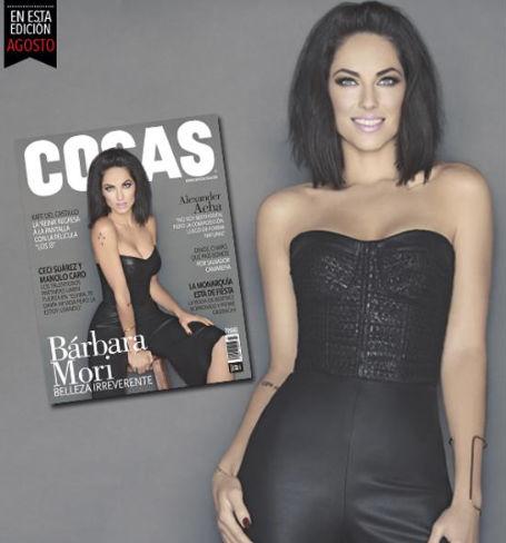 Bárbara Mori Revista Cosas